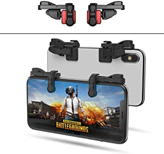 ?1 Pair? IFYOO Z108 Mobile Gaming Controller Compatible with PUBG Mobile/Fortnitee Mobile/Call of Duty Mobile, Sensitive Shoot and Aim Trigger L1R1 Compatible with Android & iPhone
