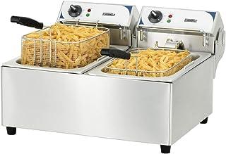Casselin CFE102 - Friteuse électrique 2 x 10 litres