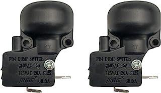 MENSI Outdoor Propane Gas Patio Heater Parts Micro Anti Tilt Dump-Switch Safety Anti-Tip Set of 2