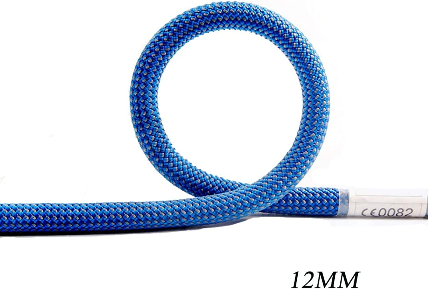 Static Ropes Outdoor Mountaineering Rappelling Rope Nylon wearResistant Climbing Safety Rope Φ12MM (0.47mm) bluee