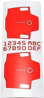 Wrapgrade Mono Skin for DJI Mavic Pro Batteries (NEON Orange)
