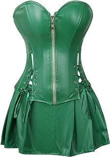 black halter neck corset
