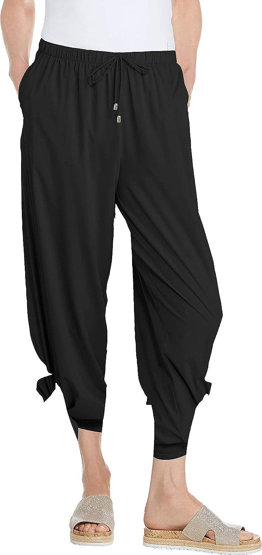 Coolibar UPF 50+ Women's Petra Wide Leg Pants - Sun Protective