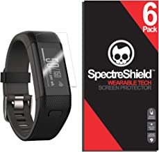Spectre Shield (6 Pack) Screen Protector for Garmin Vivosmart HR Plus Accessory Garmin Vivosmart HR Plus Case Friendly Full Coverage Clear Film