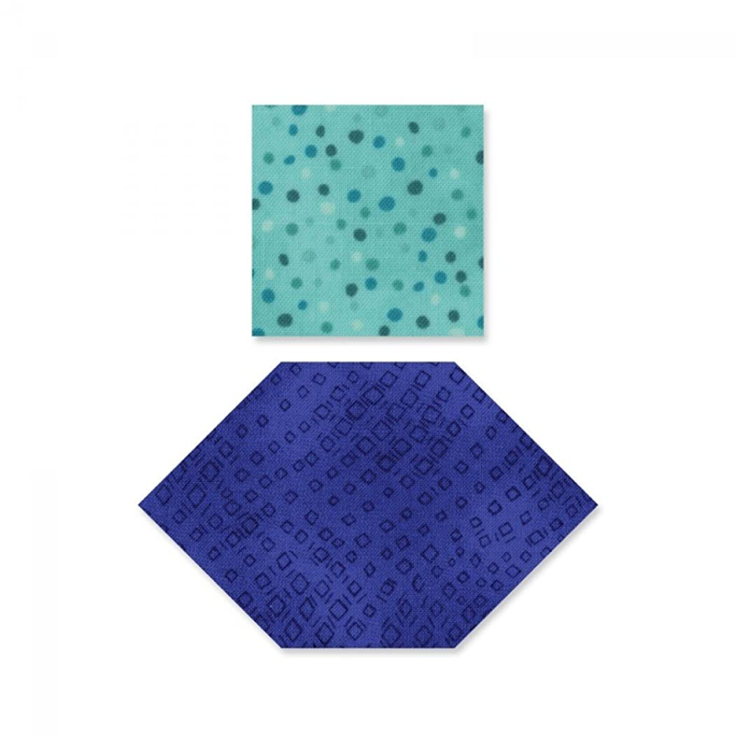 Sizzix Honeycombs and Squares Dies, Multi
