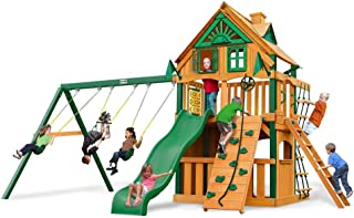 Chateau Clubhouse Treehouse Swing Set