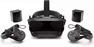 Valve Index Full VR Kit (2020 Model) (Includes Headset, Base Stations, & Controllers)