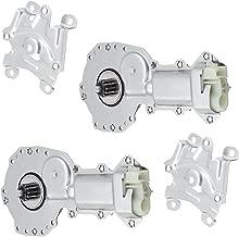 Pair Set Power Window Lift Regulator Motors Replacement for 82-87 C/K Pickup Truck 12362900