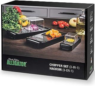 Alligator Black Edition 3002B Couteau à légumes et fruits