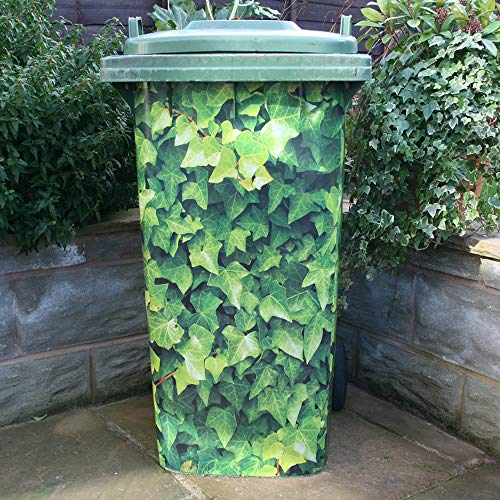 Wheelie Bin Cover Ivy Leaves FREE DELIVERY