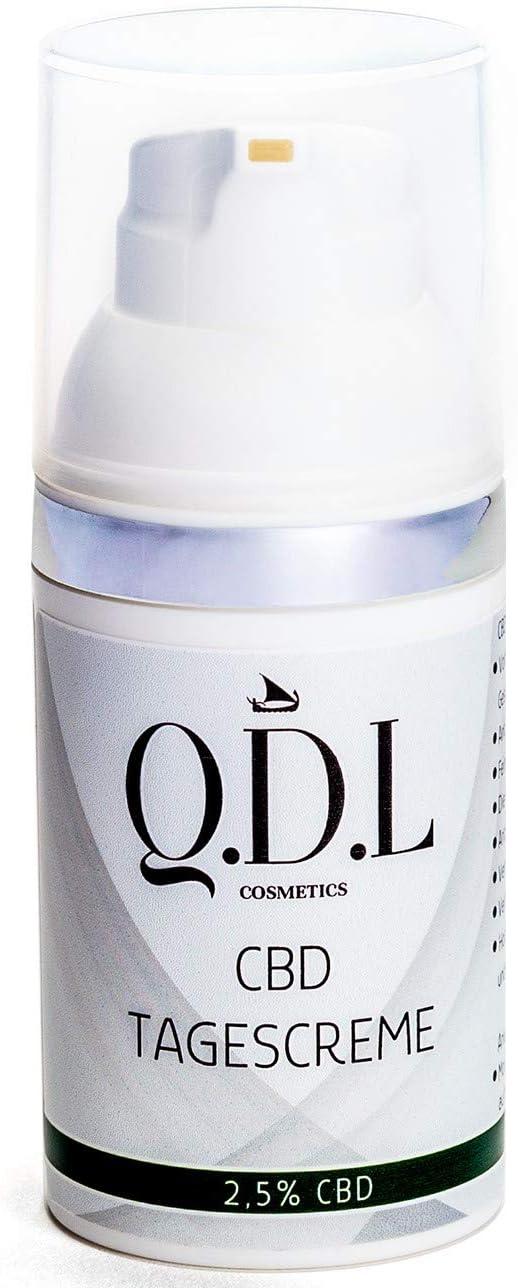 CBD Crema de día con 2,5% de cannabidiol auténtico, 30 ml