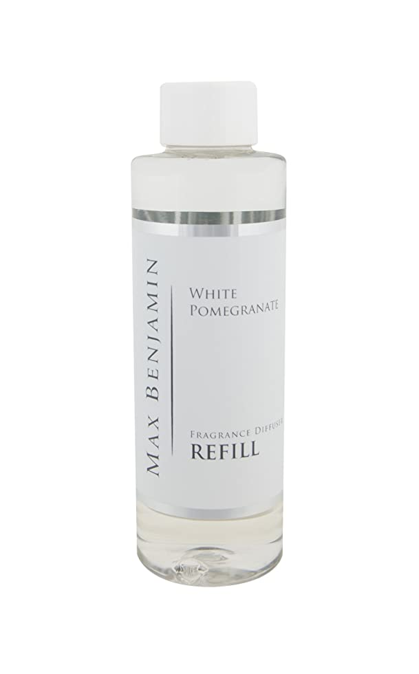 スチュワーデス歴史霊Max Benjamin リードディフューザー詰め替えオイル - 白 ポメラネート 150ml。 最大16Wの香り。 安全な無炎で一定の香り。