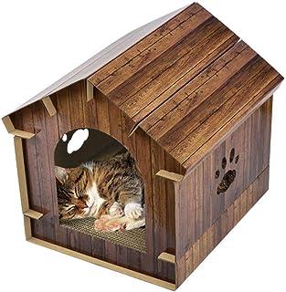 Amazon.es: casitas para gatos exterior