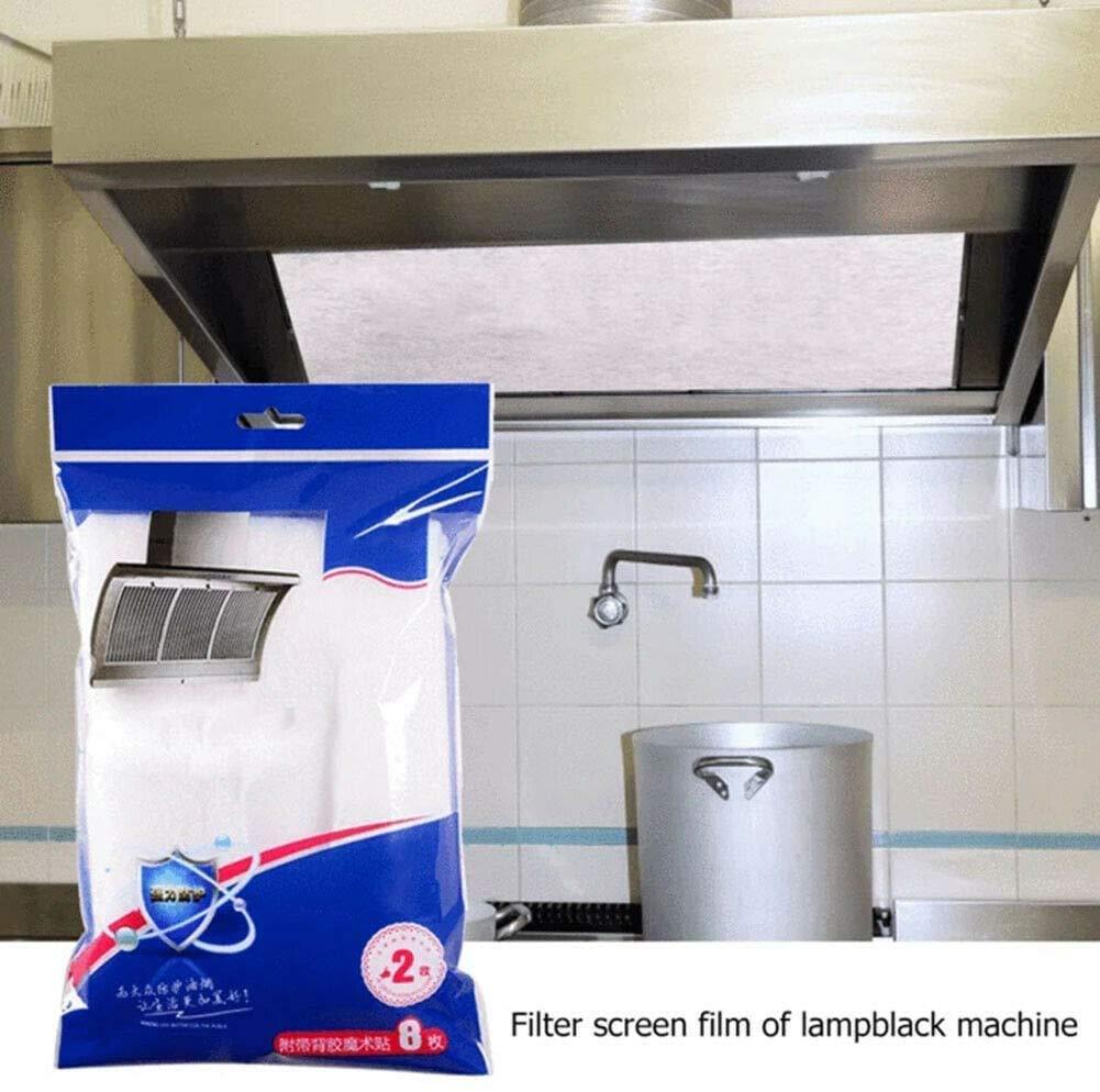 GPYONCT 3 Paquetes de Protector de Filtro para Campana extractora, Filtro de Tela no Tejida, película de Pantalla de máquina Lampblack, Papel de Filtro para Extractor de Cocina (45 * 90cm): Amazon.es: Hogar
