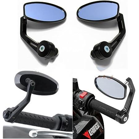 Lenkerendenspiegel Motorrad 7 8 Motorräder Spiegel Rückspiegel Lenkerspiegel 22mm Universal Seitenspiegel Auto