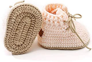 Crochet Baby Booties Unisex Baby Shoes Baby Girl Shoes Baby Boy shoes Knitted Baby Shoes Handmade Infant Booties Gift for New Born Baby Shower Annoucement