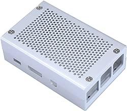 Unistorm Raspberry Pi 3 Model B+ Case Aluminum Case Silver Case Compatible with Raspberry Pi 3 Model B Also