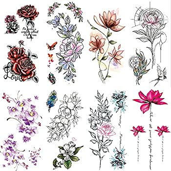 Best orchid tattoo Reviews