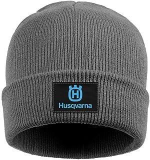 8d00a476432 Mens Womens Beanie Hats Husqvarna-Motorcycle-Logo- Soft Fine Acrylic Winter  Warm Beanie
