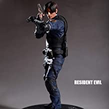 CQ Figura de acción Resident Evil Figura Leon Scott Kennedy Figma Collectibles Horrible de Residente Evil los 32CM Toys