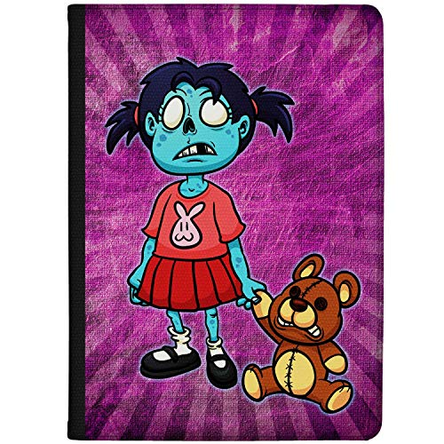 Azzumo Little Girl Zombie Faux Leather Case Cover/Folio for the Vodafone Smart Tab N8 (2017)