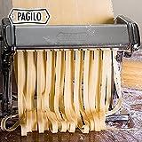 PAGILO Nudelmaschine (7 Stufen) für Spaghetti, Pasta und Lasagne   2 Jahre Zufriedenheitsgarantie   Pastamaschine, Pastamaker - 5