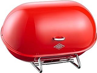 WESCO Single Breadboy - Bread Boxes (Rojo, Acero)