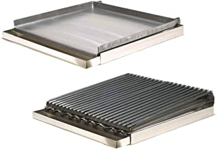 Rocky Mountain Cookware MGB24-8 4-Burner Add on Griddle/Broiler Combo