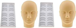 ZHJING Professionele Pro Salon Mannequin Training Make-up Wimpers Uitbreiding Praktijk Gereedschap Set