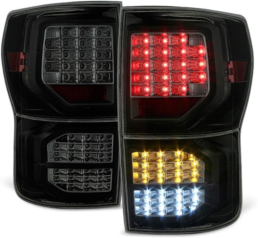 ACANII - For 低価格化 新作販売 Black Smoked 2007-2013 Tail LED Full Toyota Tundra