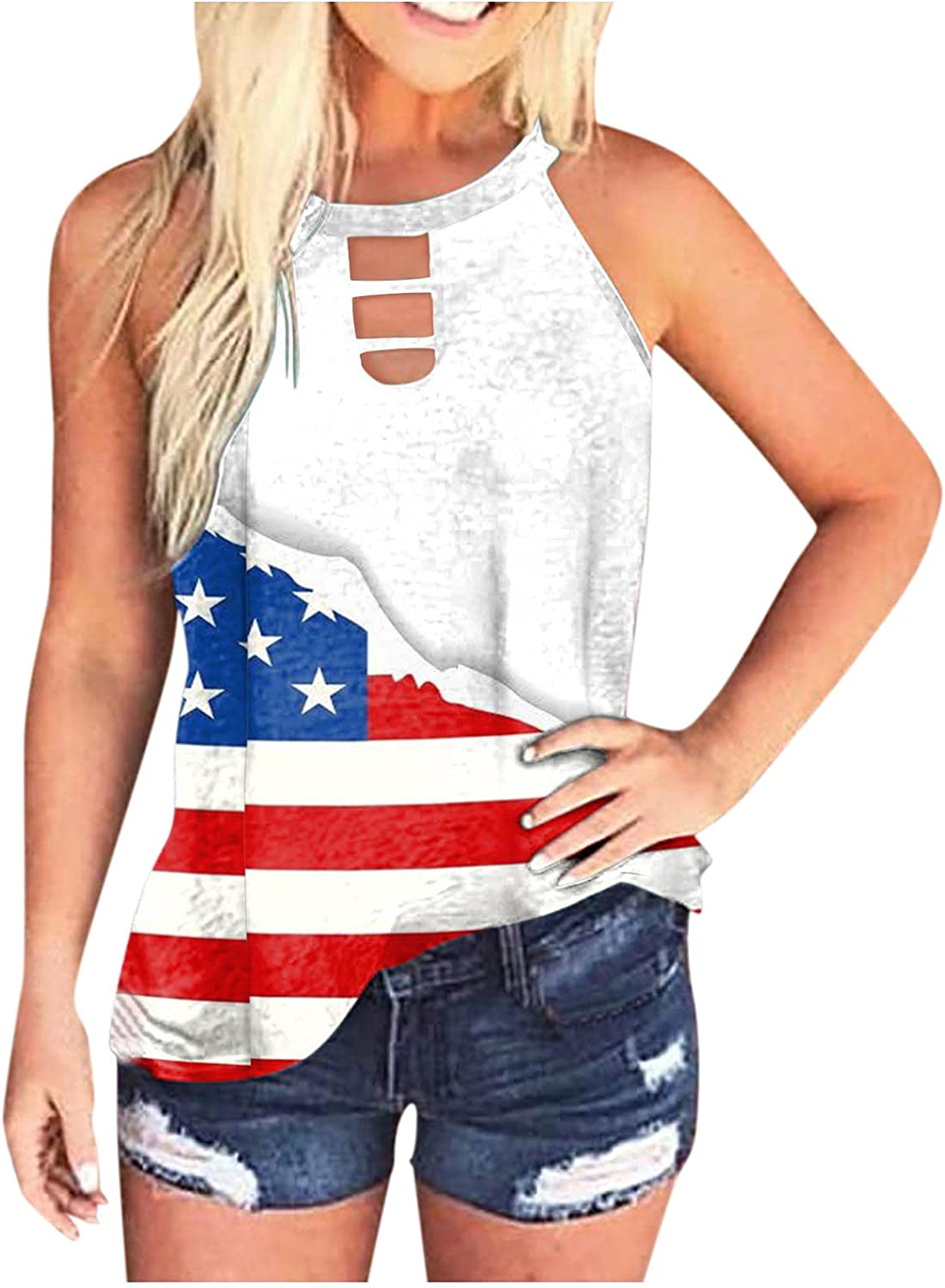 Sleeveless Tops for Women Plus Size,Womens High Neck Tank Tops Sleeveless Loose Tie Dye Tunic Casual Plus Size Basic Tees Tops