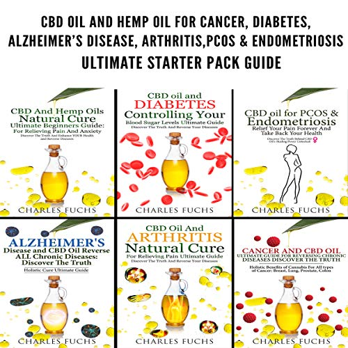 CBD Oil and Hemp Oil for Cancer, Diabetes, Alzheimer's Disease, Arthritis, PCOS & Endometriosis: Ultimate Starter Pack Guide - 6 Manuscripts in 1 Book                   By:                                                                                                                                 Charles Fuchs                               Narrated by:                                                                                                                                 Sam Slydell                      Length: 3 hrs and 29 mins     5 ratings     Overall 5.0