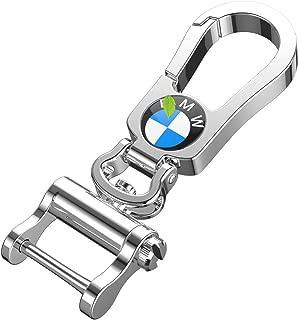 Intermerge for BMW Keychain Keyring, Zinc Alloy Material BMW Key Chain with BMW Logo