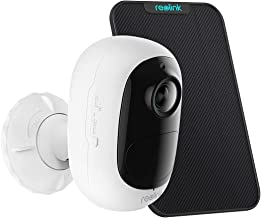 Reolink 1080p Indoor/Outdoor Security Wireless Camera, Battery Solar Powered, PIR Motion Detection, Stunning Night Vision,...