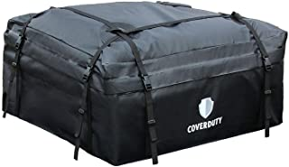 Cover Duty Rooftop Cargo Carrier Bag, Waterproof, 15 Cubic Ft | Premium Quality – Extremely Durable Car Top Carrier for Roof Rack
