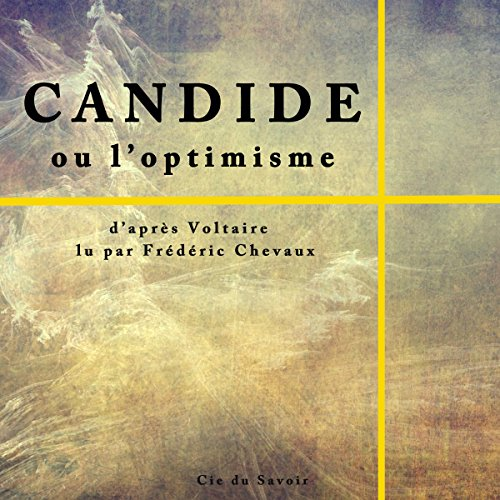 Couverture de Candide ou l'optimisme