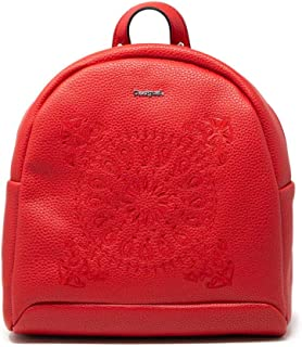Luxury Fashion   Desigual Womens 19WAKP28RED Red Backpack   Fall Winter 19