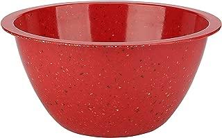 Zak Designs 0078-5160-AMZ Confetti Mixing Bowls, Serving, Red XL