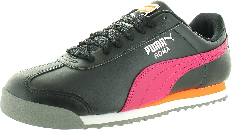 PUMA Hommes's Roma Basic noir Vivacious Ankle-High mode paniers - 11M