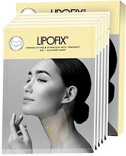 Sponsored Ad - Neck Lifting Hydrating Firming Intense Treatment Bio - Cellulose Mask LipoFix