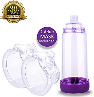 Spacer for Adults, Includes 2 Mask, Completely Sealed - Large Size