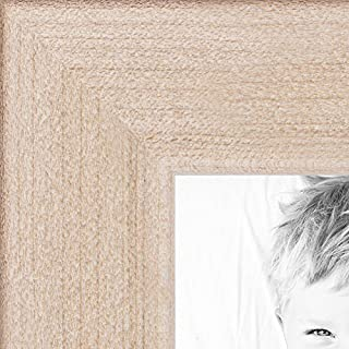 ArtToFrames 24x36 inch Clear Stain on Maple Wood Picture Frame, WOM0066-81784-YCLR-24x36