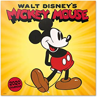 ERIK - Disney Mickey 2020 Wall Calendar, 16 Months, 30 x 30cm