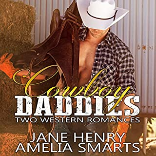 Cowboy Daddies: Two Western Romances audiobook cover art