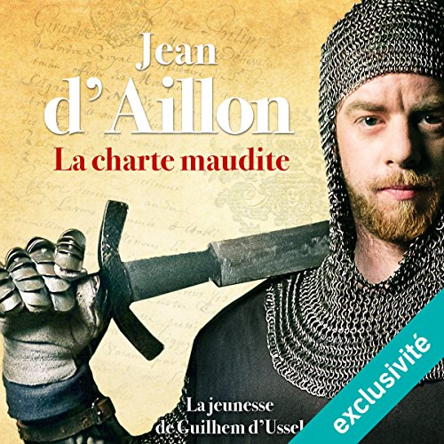 La charte maudite audiobook cover art