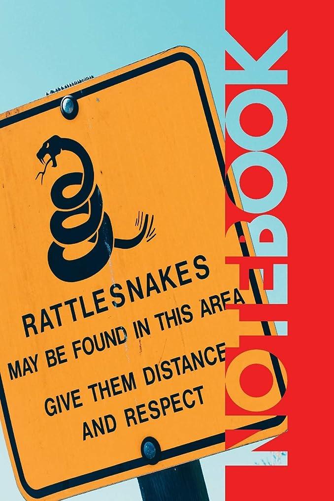覚醒ミント判決Notebook: Serpiente de Cascabel Compact Composition Book for Rattlesnake Pet Owners