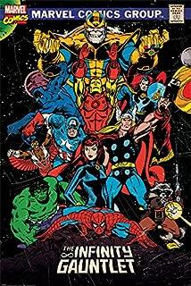 Pyramid International Marvel Retro The Infinity Gauntlet Comic Book Poster 24x36 Inch