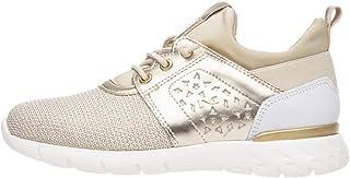 Nero Giardini P931041F Sneakers Teens Fille en Cuir Et Toile