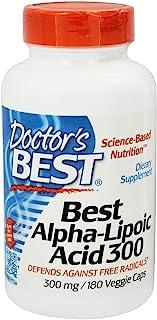 Doctor's Best Alpha-Lipoic Acid, 300 mg, 180 Veggie Caps