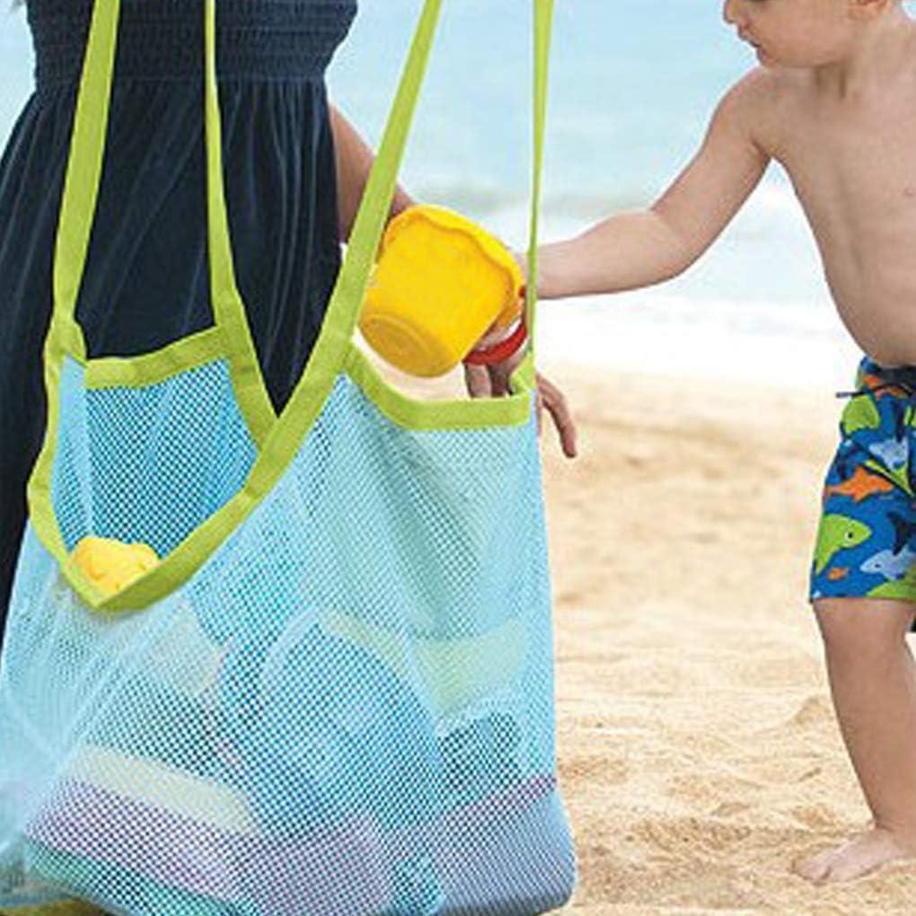 Hotaluyt Ni/ños beb/é Juguetes de Playa Bolsa de Malla de la Bolsa al Aire Libre Juguetes para ni/ños Que recogen la Playa de Almacenamiento de Asas de Bolsas de Malla